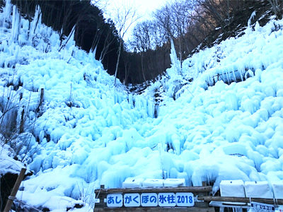 ヒルナンデス バスツアー 2月19日 埼玉 あしがくぼの氷柱