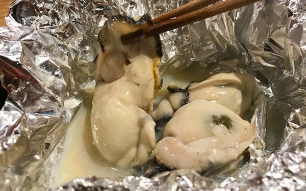 播州赤穂の焼き牡蠣
