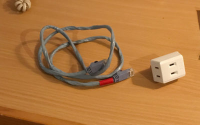 LAN 電源タップ