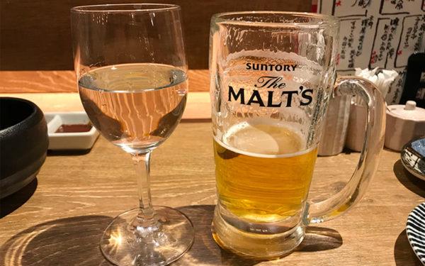 日本酒(船中八策)グラス