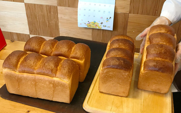 湯ごね食パン 長者 焼きたてパン