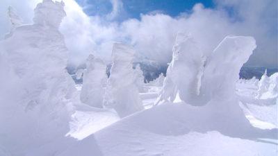 八甲田山 樹氷