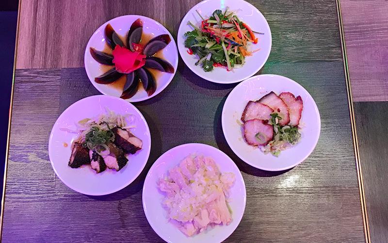 幸福飯店 ハッピーハンテン 小皿料理 5種