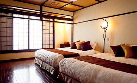 五島コンカナ王国 和洋室 ベッドルーム