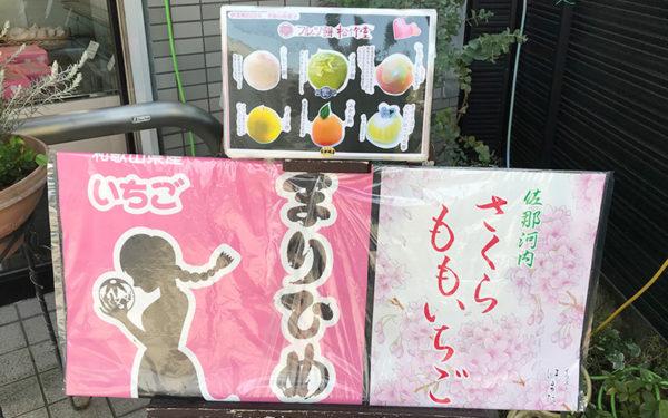 松竹堂 本日のフルーツ餅