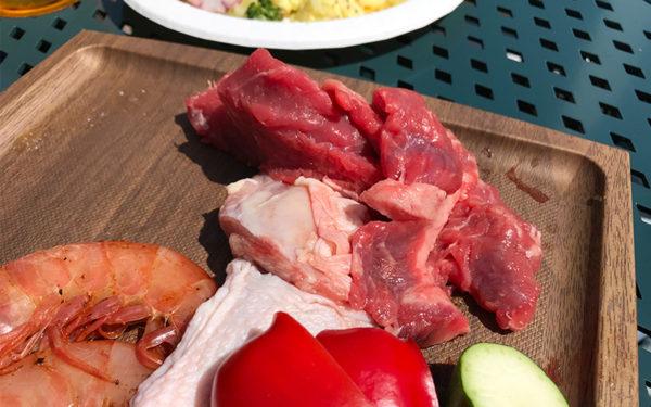 バーベキュー BBQ 牛肉 鶏肉