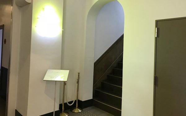 ミライザ大阪城 屋上階段