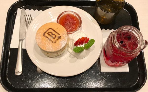 BURN SIDE ST CAFE バーンサイド・ストリート・カフェ うめだフードホール 阪急三番街 パンケーキ セット