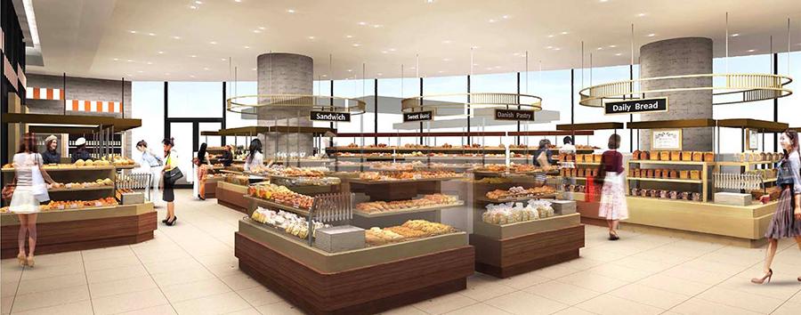 阪神百貨店 建て替え リニューアルオープン 関西初出店 新店 パンワールド 食パンセレクトショップ
