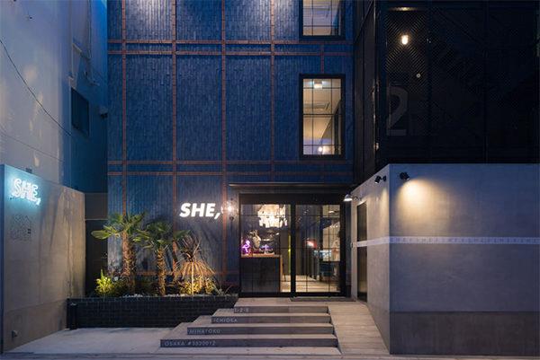 ソーシャルホテル 現役東大生 ソーシャルホテル ホテルシー大阪 HOTEL SHE, OSAKA