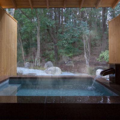月夜見の座 客室露天風呂
