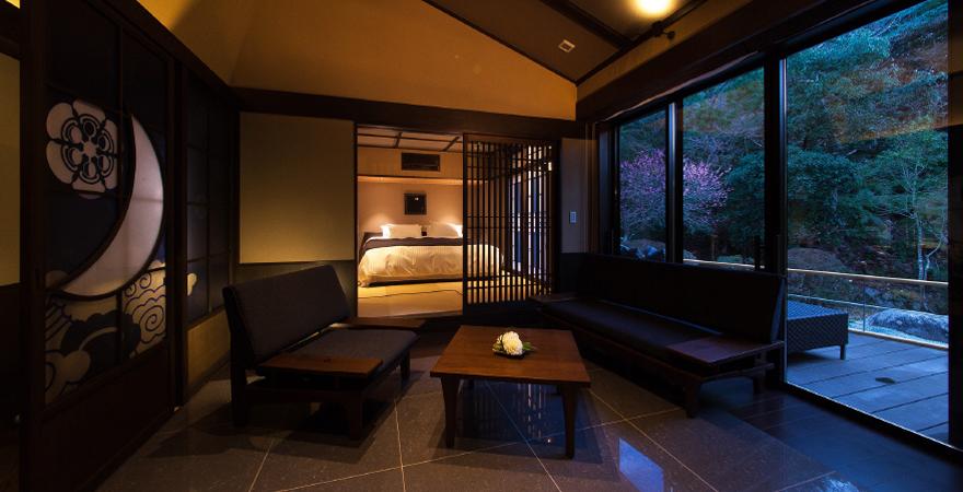 千の杜別邸 月夜見の座 千年のしじま 客室