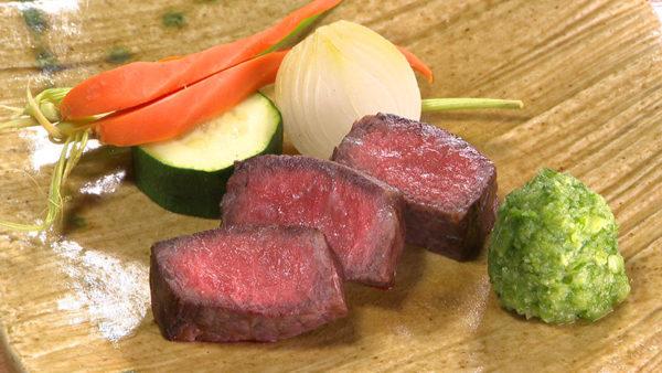 慈菜湯宿 粋房おぐら 豊後牛 ステーキ
