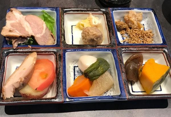 紀州みなべ温泉 料理宿 朝日楼 朝食 おかず
