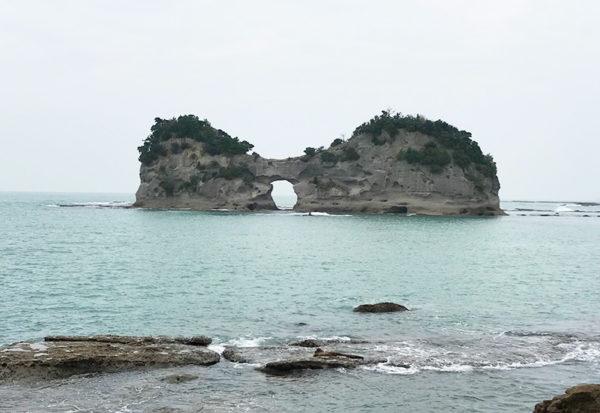 和歌山 南紀 白浜 円月島