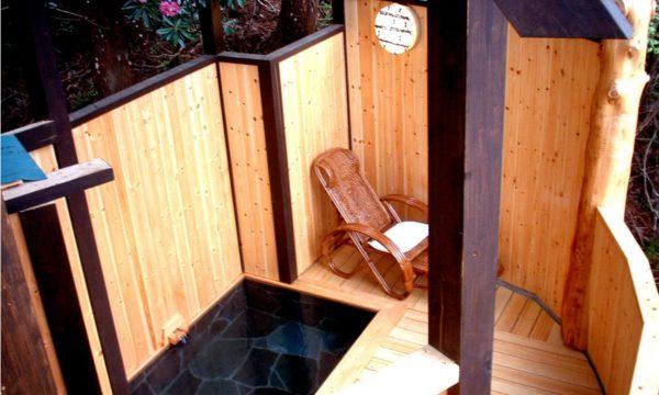 花敷温泉 囲炉裏の御宿 花敷の湯 客室露天風呂