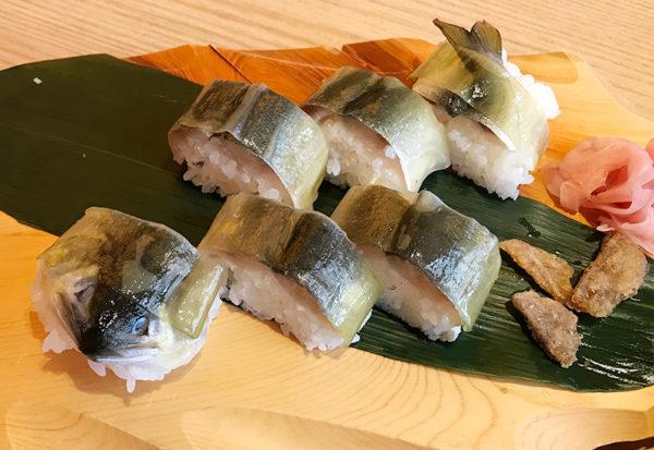 海鮮れすとらん 勘八屋 ランチ 鮎寿司