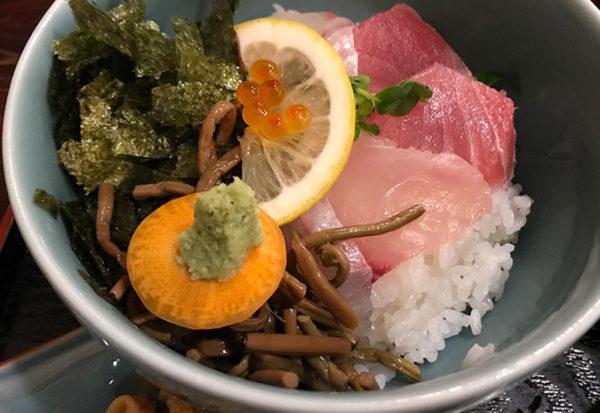 和歌山 白浜 喜楽 熊野路丼 海鮮丼