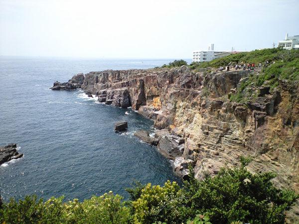 和歌山 南紀 白浜 景勝地 三段壁
