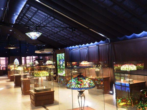 ニューヨークランプミュージアム&フラワーガーデン ティファニーミュージアム