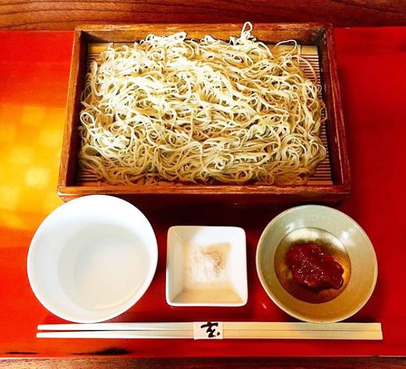 ごぶごぶ 八嶋智人 奈良 ならまち ミシュラン1つ星 蕎麦 玄 梅たたきの水そば
