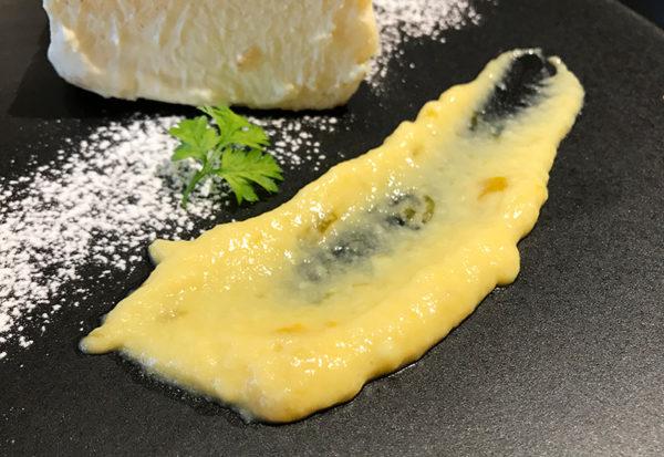 とろけるベイクドチーズケーキ グッドスプーン 阪急西宮ガーデンズ ゲート館店 レモンソース