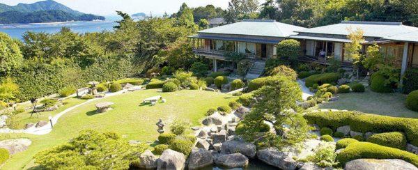 広島 廿日市 宮浜温泉 庭園の宿 石亭 ミシュランガイド 5つ星 旅館