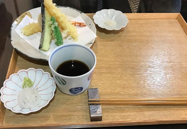 蕎麦 すみ蔵 天ぷら付もりそば