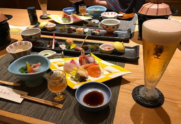 伊豆 修善寺 ねの湯 対山荘 夕食