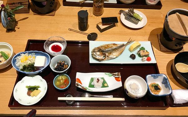 伊豆 修善寺 ねの湯 対山荘 朝食