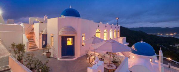 高知 土佐市 ホテル ヴィラ サントリーニ エーゲ海 イタリアン レストラン ローグ