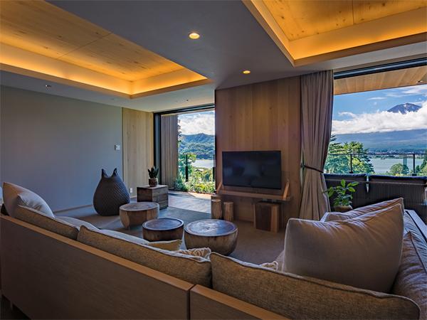ビビット ふふ河口湖 10月オープン 富士山 紅葉 IKKO 宿泊予約 熱海ふふ