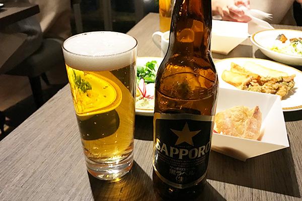 神戸北野ホテル いちごブッフェ ドリンク アルコール 飲み放題 ビール 小瓶