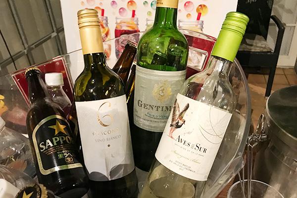 神戸北野ホテル いちごブッフェ ドリンク アルコール 飲み放題 白ワイン