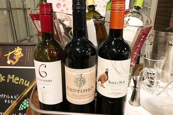 神戸北野ホテル いちごブッフェ ドリンク アルコール 飲み放題 赤ワイン