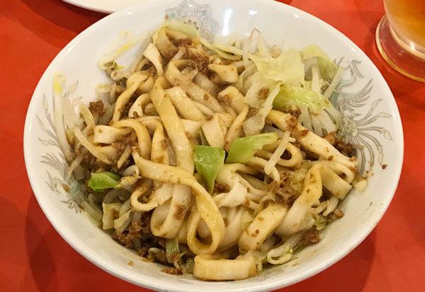 神戸 元町 南京町 元祖 ぎょうざ苑 ジャジャ麺