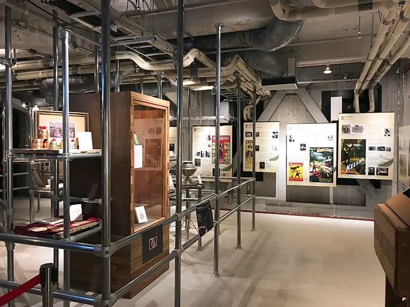 ミライザ大阪城 イリュージョンミュージアム 幻影博物館 トリック 手品 イリュージョン 展示