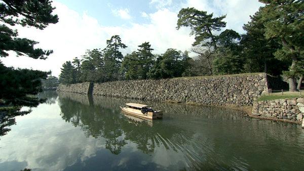 松江城 堀川めぐり