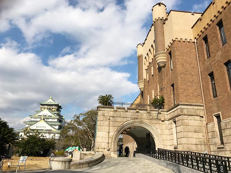 ミライザ大阪城 外観