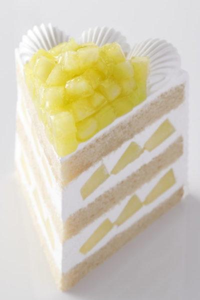 パティスリーSATSUKI エクストラスーパーメロンショートケーキ