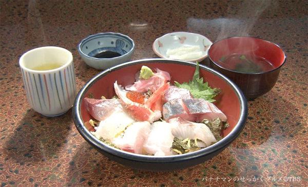 魚山亭 特上海鮮丼