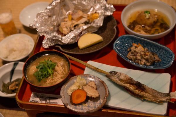 乳頭温泉郷 鶴の湯 夕食