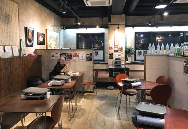 宝塚 韓国料理 Korean kitchen haruban ハルバン 店内