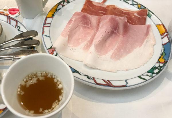 ポトフ ハム 生ハム 神戸北野ホテル 世界一の朝食