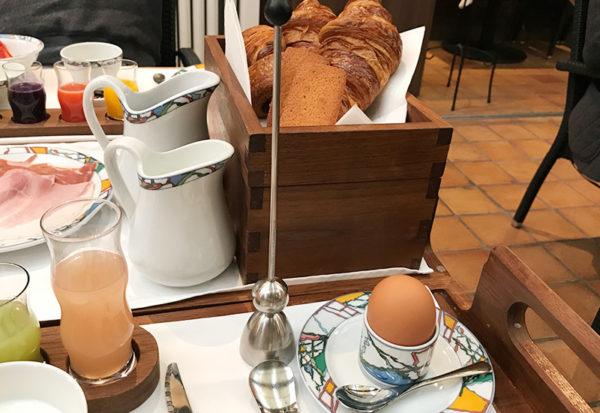 半熟卵 エッグカッター 神戸北野ホテル 世界一の朝食