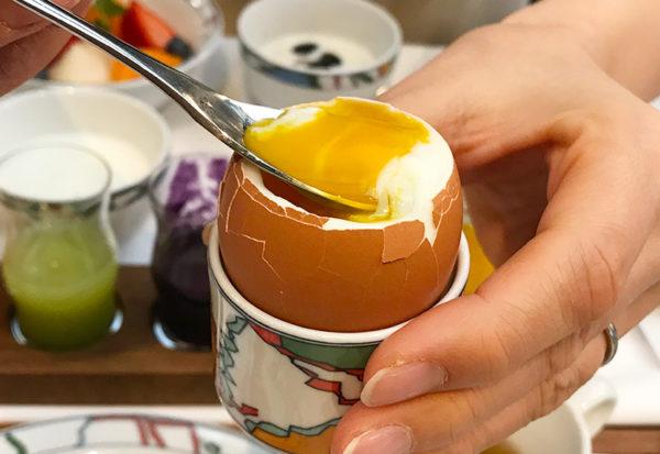 濃厚半熟卵 神戸北野ホテル 世界一の朝食