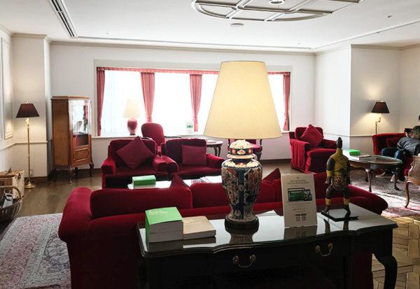 神戸北野ホテル ロビー
