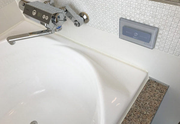 神戸北野ホテル デラックスダブル 客室 お風呂 ジャグジー