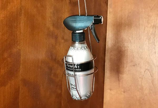 神戸北野ホテル デラックスダブル 客室 クローゼット 消臭剤 リセッシュ