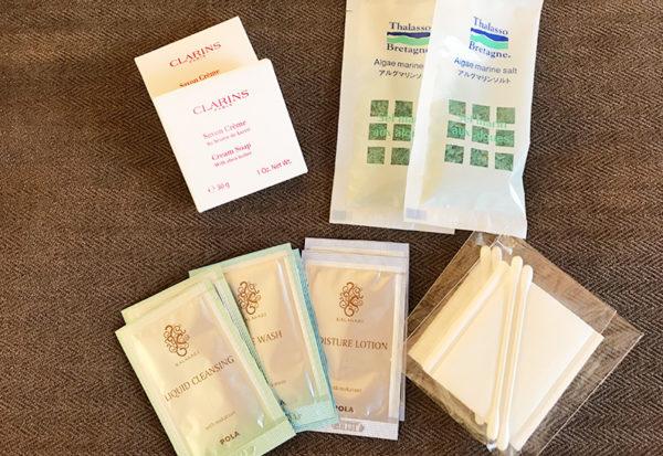 神戸北野ホテル アメニティ コスメティック 入浴剤 化粧水 クレンジング